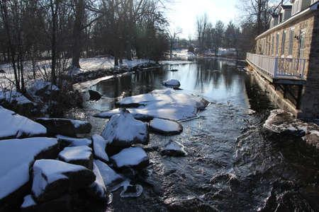 tay: Tay River, winter Stock Photo