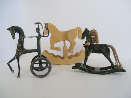 Three hobby horses