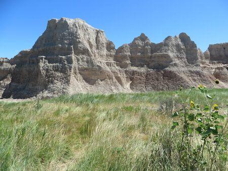south dakota: Badlands National Park, South Dakota
