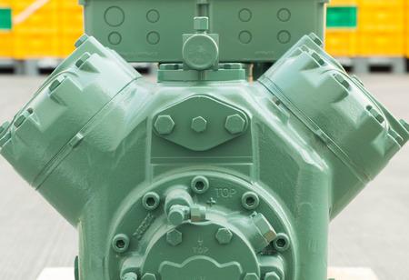 Air conditioning compressor Foto de archivo