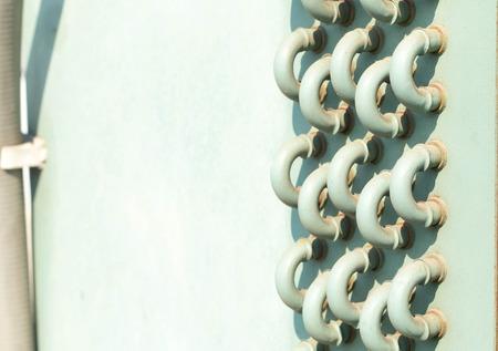 ventilate: Air conditioning compressor.