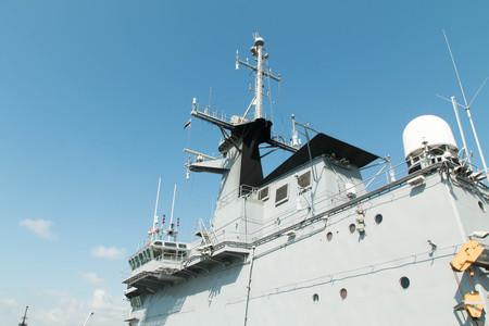 warship: warship Stock Photo