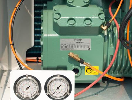 Refrigeration compressors.