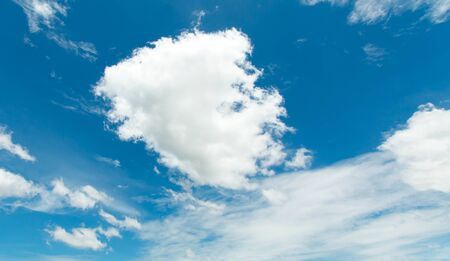 cloudy sky: Partly cloudy sky