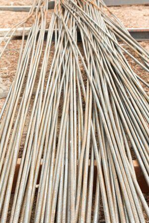 reinforcing: Reinforcing steel bars for building armature