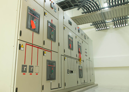 industrial machinery: Electrical switchgear -- Industrial electrical switch panel