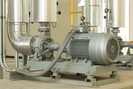 Large industrial pump room