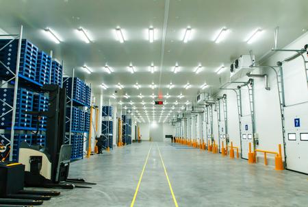 Warehouse freezer