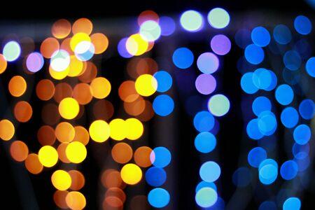 bright: Colorful bokeh