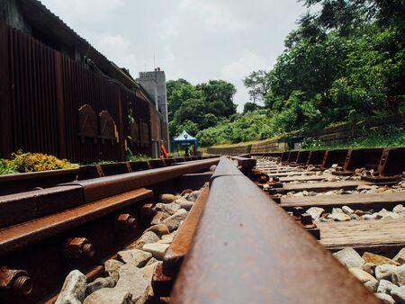 close up: Close up railroad