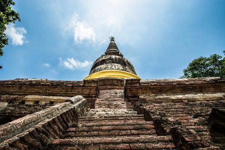 chaimongkol: pagoda Wat Yai Chaimongkol, Ayutthaya