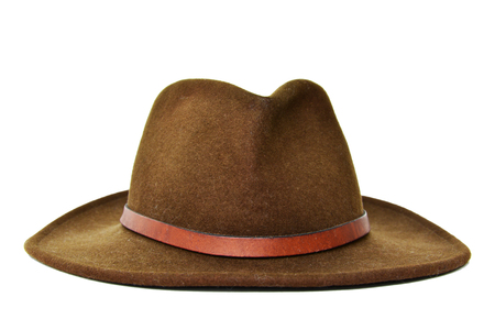 Dark Green cowboy hat Reklamní fotografie