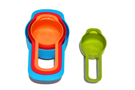 clorful measuring spoons