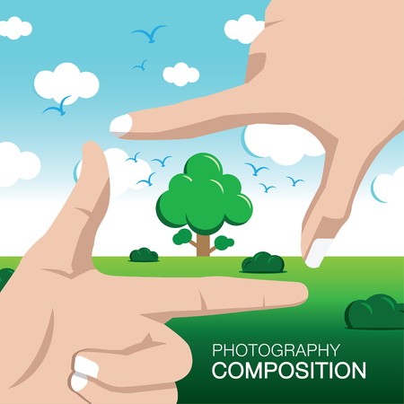 photography composition illustration