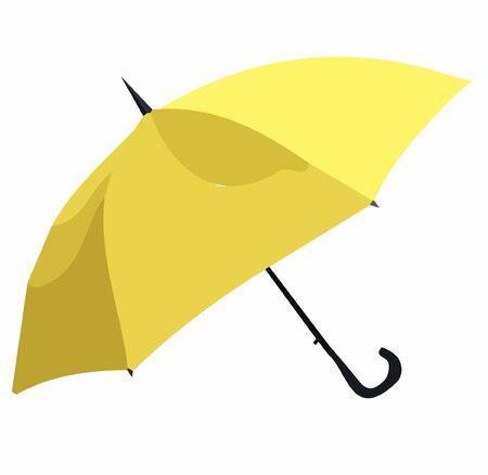 Color umbrella vector on white background
