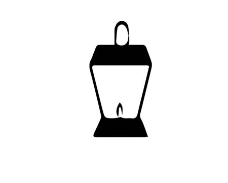 lamp icon on white background Banque d'images - 146942188