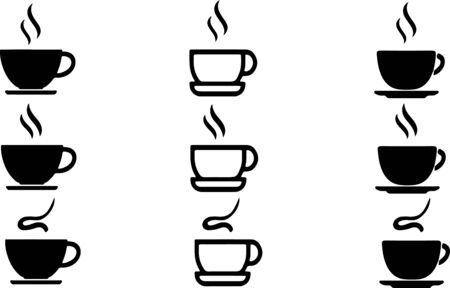 coffee icon isolated on background