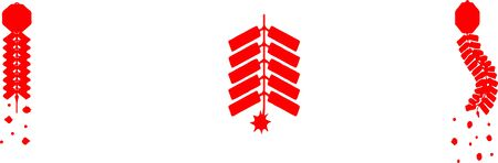 firecracker icon on white background