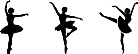 ballet icon isolated on white background