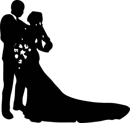 wedding vector ,marry ,marriage on background