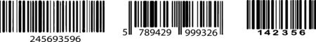 bar code icon isolated on background Illustration