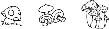 mushroom icon isolated on background