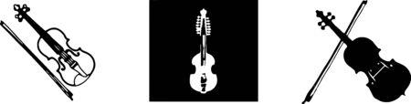 violin icon isolated on background Reklamní fotografie - 149106628