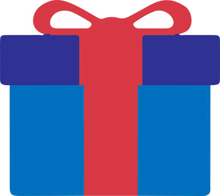 a gift box icon on white background