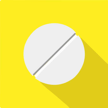 pill icon isolated on background