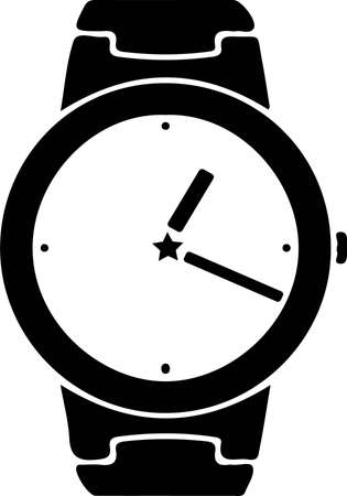 watch vector illustration isolated on background