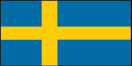 Sweden vector illustration isolated on background