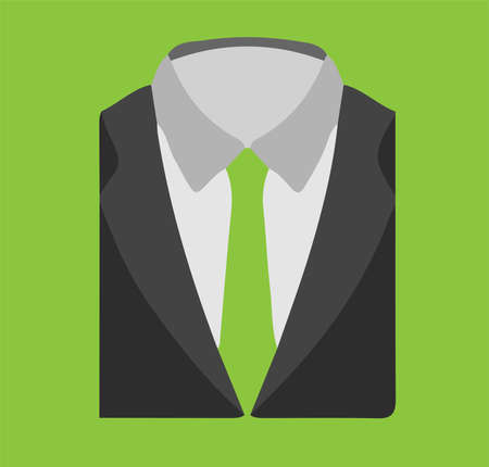 suit icon isolated on background