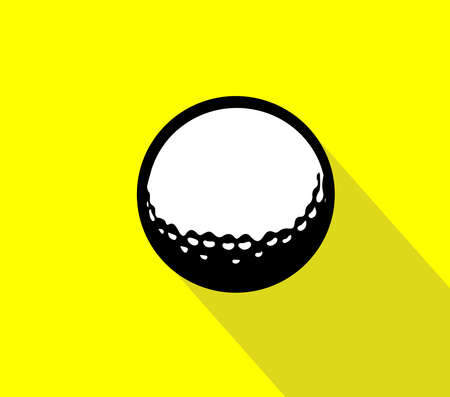 golf vector isolated on background