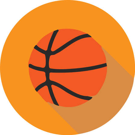 basketball vector illustration isolated on background