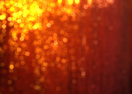Celebration abstract background with bokeh lights Archivio Fotografico