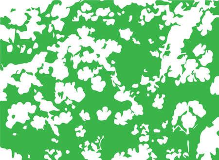 flower vector on white background