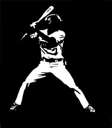 baseball vector illustration on background
