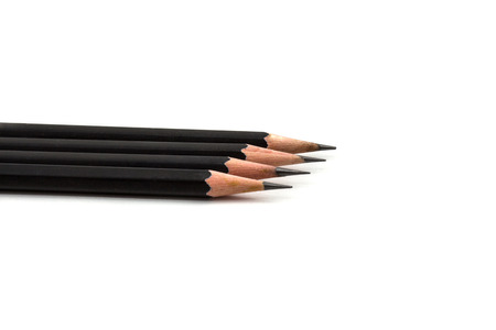 pencil isolated on white  photo