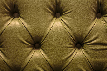 Close up texture of vintage leather sofa for background photo