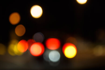 blurr: Abstract background blurr, Evening traffic. The city lights. Stock Photo