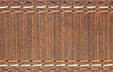 seam: Leather with seam, Belt background. Stock Photo