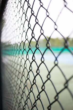 metal wire: Metal wire fence protection