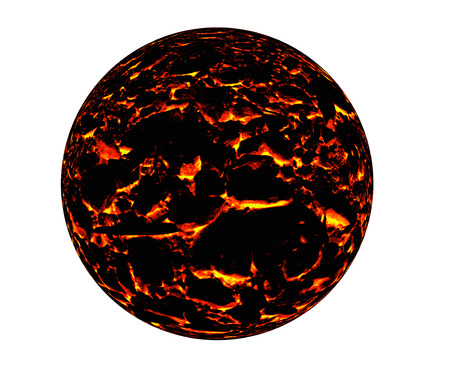 magma: Hot magma texture Stock Photo