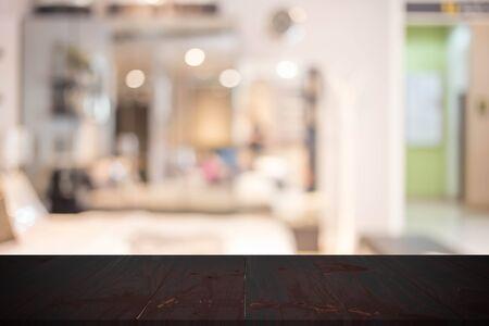 luxury living room: Blur Background In The Bedroom.