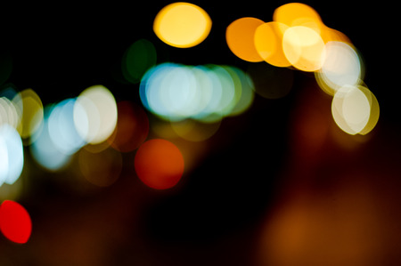 Beautiful Blooms Backgrounds Bokeh Wallpapers Street Lights Cars Running Back And
