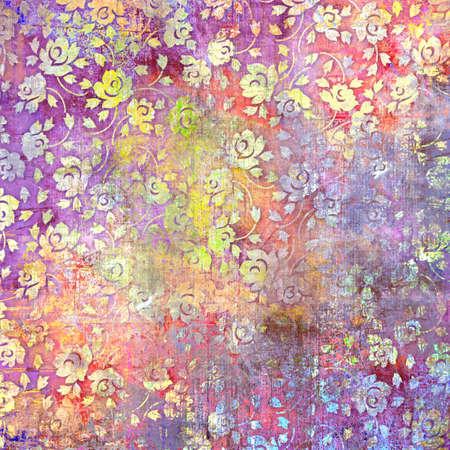 vintage texture background,art design,flower pattern background