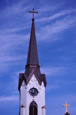 Church Steeple - Mauston, Wisconsin