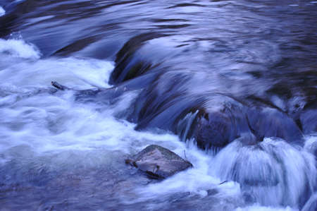 Swan Park Waterfall Stock Photo