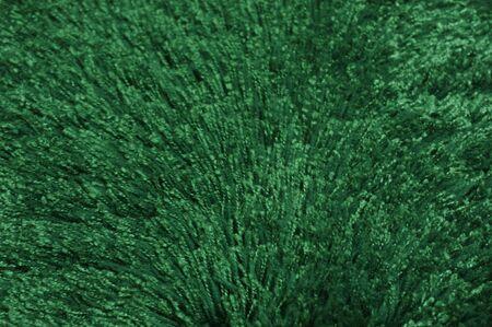 Background - Emerald Green Shag Stock Photo