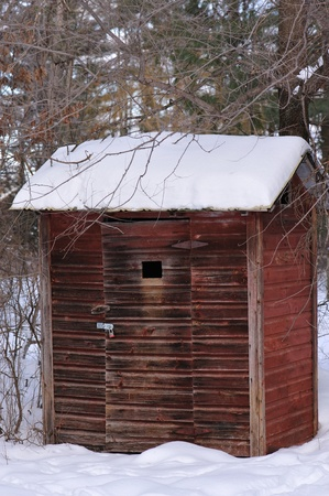 Outhouse Closed & Forgotten in Wisconsin